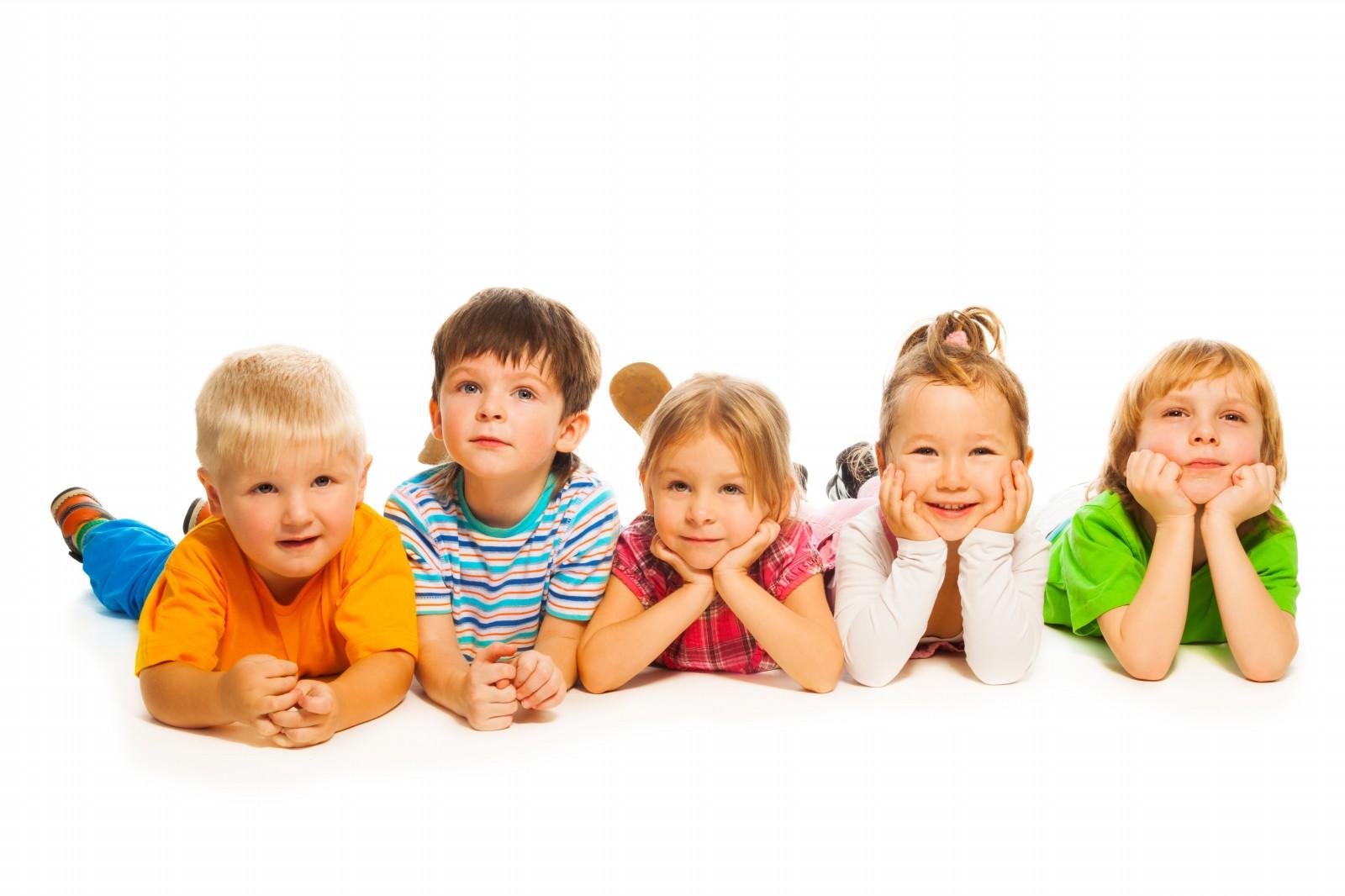 five little kids - Picture Of Little Kids