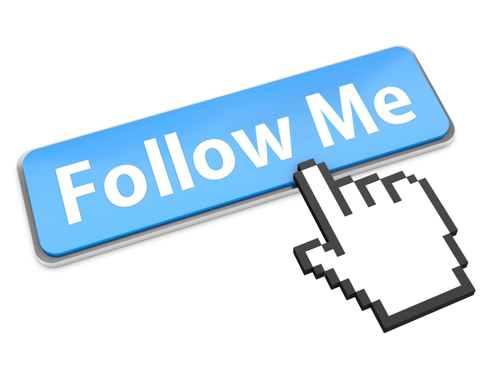 Add facebook follow us button to website