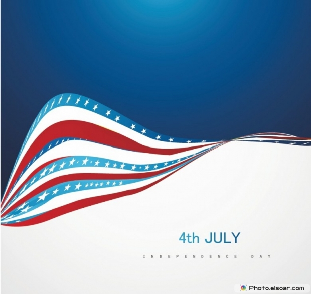 USA Holiday 4th of July Greeting Cards
