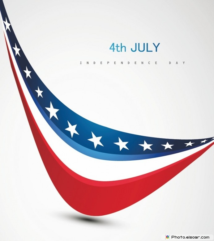 Happy Fourth of July Wishes Greeting Card