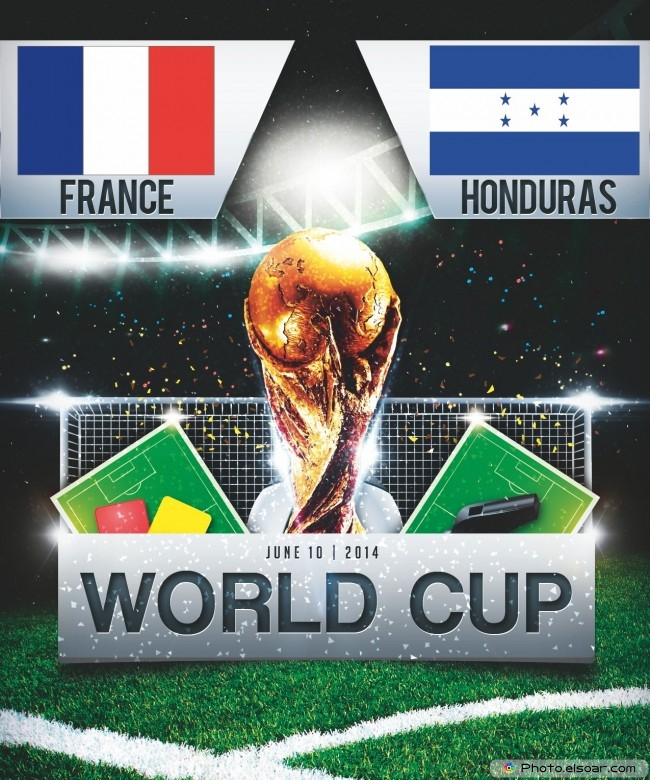 France vs Honduras - World Cup 2014 - 16:00 Local time - GROUP E - Estadio Beira-Rio - Porto Alegre