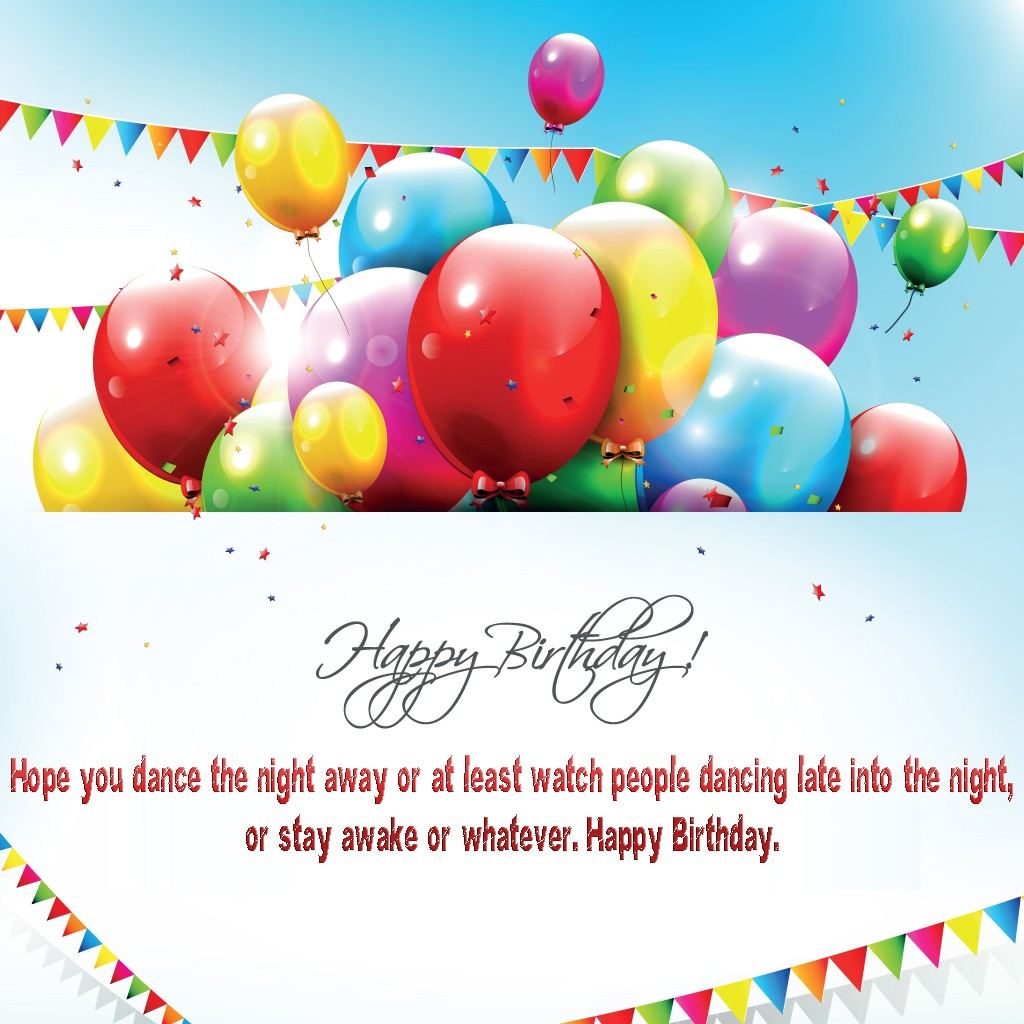 Free Greeting Cards Happy Birthday Balloons with Quotes Elsoar – Happy Birthday Greeting Card Sayings