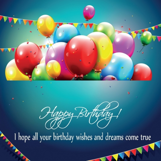 Free Greeting Cards Happy Birthday Balloons, Quotes 2