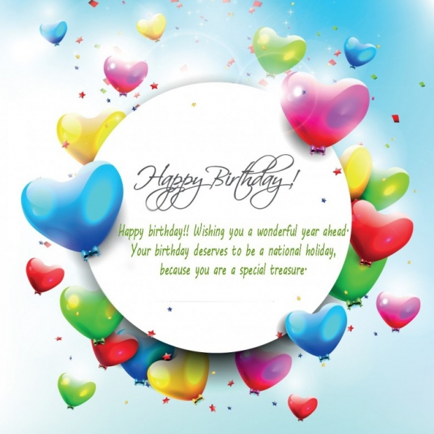 Free Greeting Cards Happy Birthday Balloons, Quotes 4