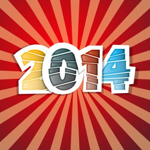 Free Happy New Year 2014 Background Picture 10