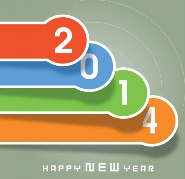Free Happy New Year 2014 Background Picture 6