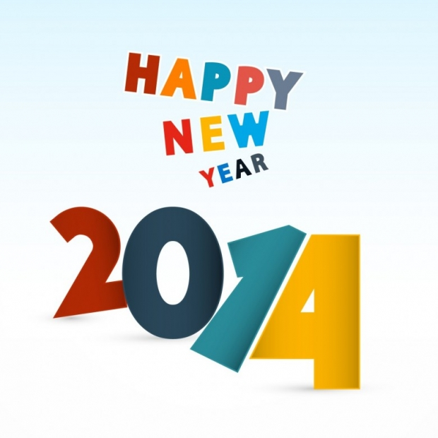 Free Happy New Year 2014 Background Picture 7