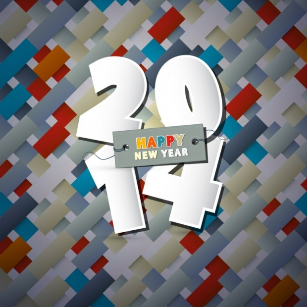 Free Happy New Year 2014 Background Picture 8