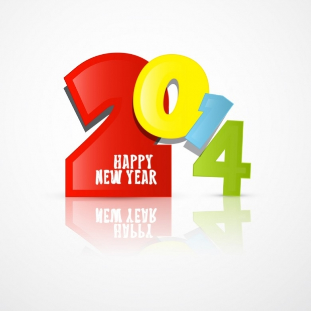 Free Happy New Year 2014 Background Picture 9
