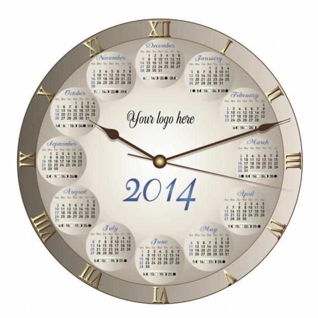 Free Printable 2014 Calendar Amazingly 1
