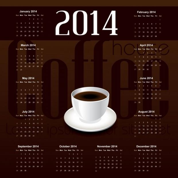 Free Printable 2014 Calendar Amazingly 10