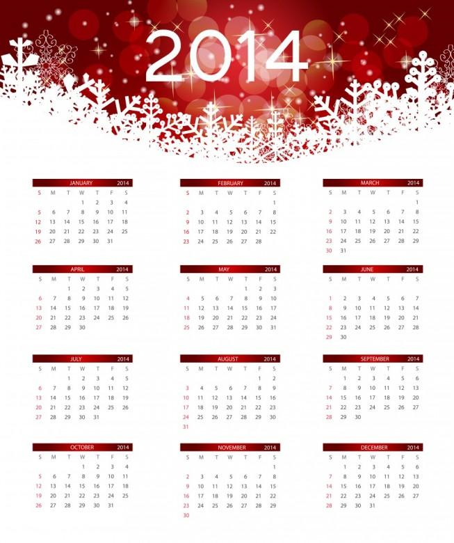 Free Printable 2014 Calendar Amazingly 11