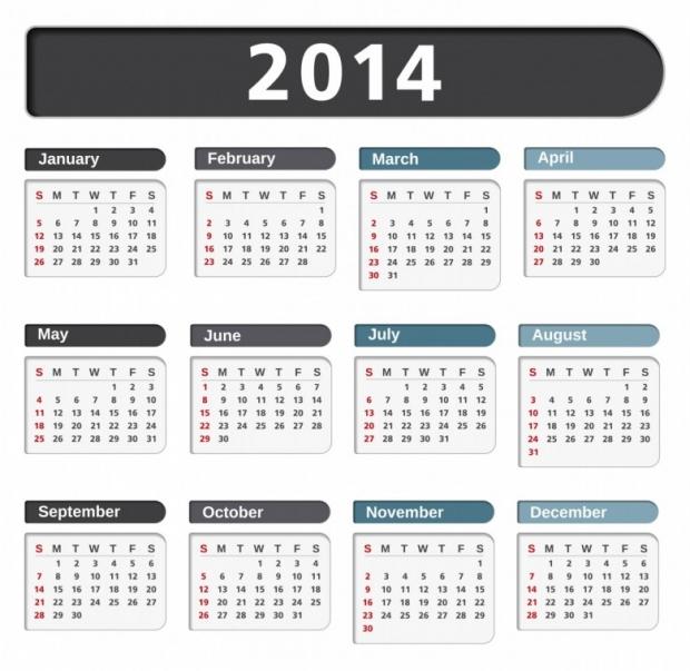 Free Printable 2014 Calendar Amazingly 19