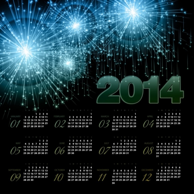 Free Printable 2014 Calendar Amazingly 2