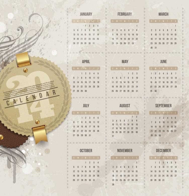 Free Printable 2014 Calendar Amazingly 20