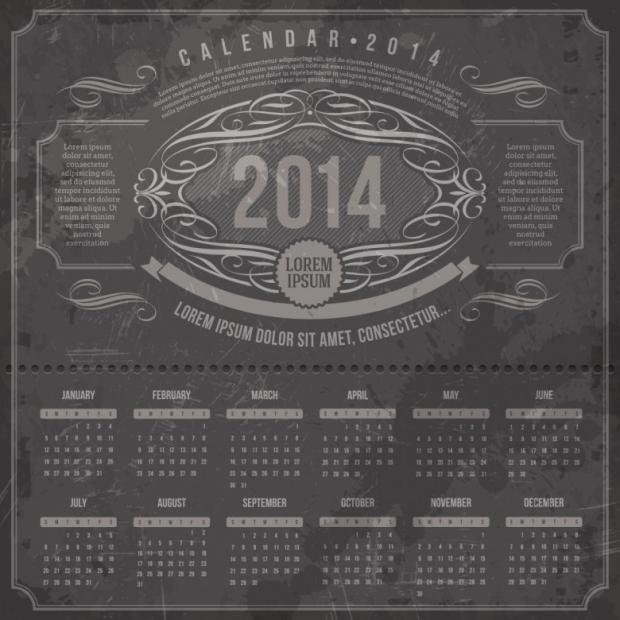 Free Printable 2014 Calendar Amazingly 21