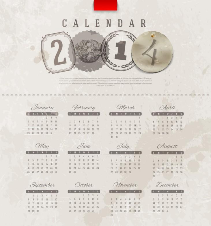 Free Printable 2014 Calendar Amazingly 22