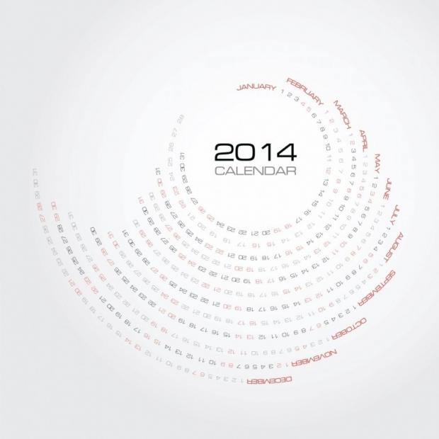 Free Printable 2014 Calendar Amazingly 9