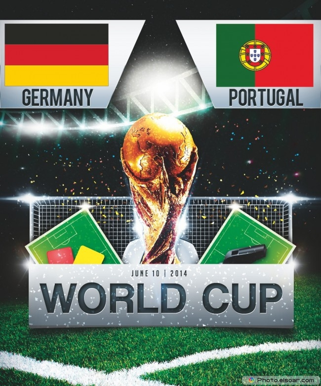 Germany vs Portugal - World Cup 2014 - 13:00 Local time - GROUP G - Arena Fonte Nova - Salvador