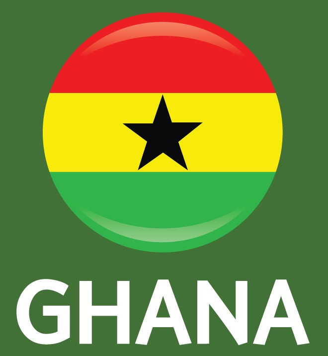 Ghana Flag FIFA World Cup