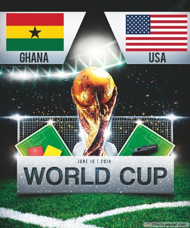 Ghana vs United States - World Cup 2014 - 19:00 Local time - GROUP G - Estadio das Dunas - Natal