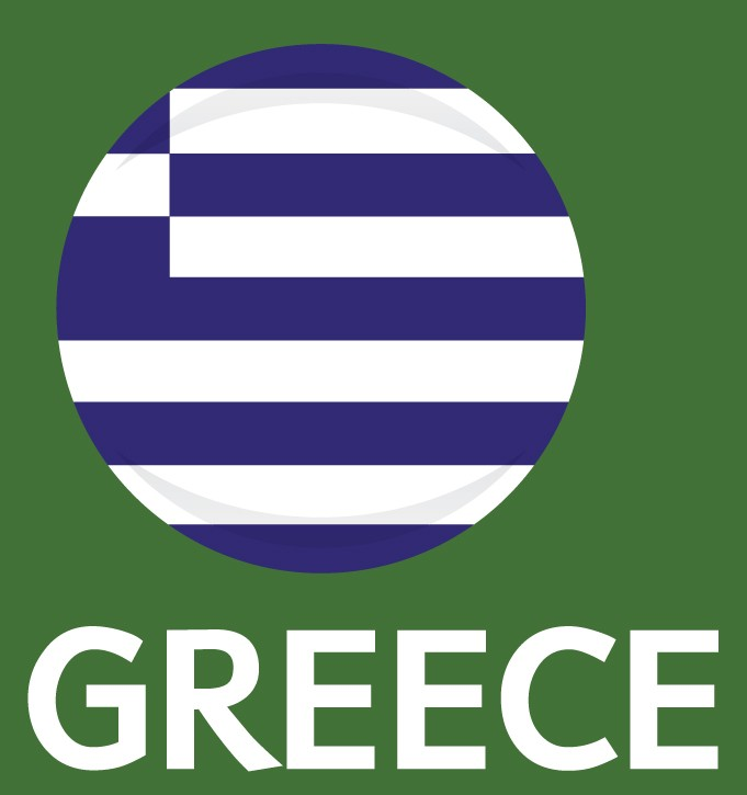 Greece Flag FIFA World Cup