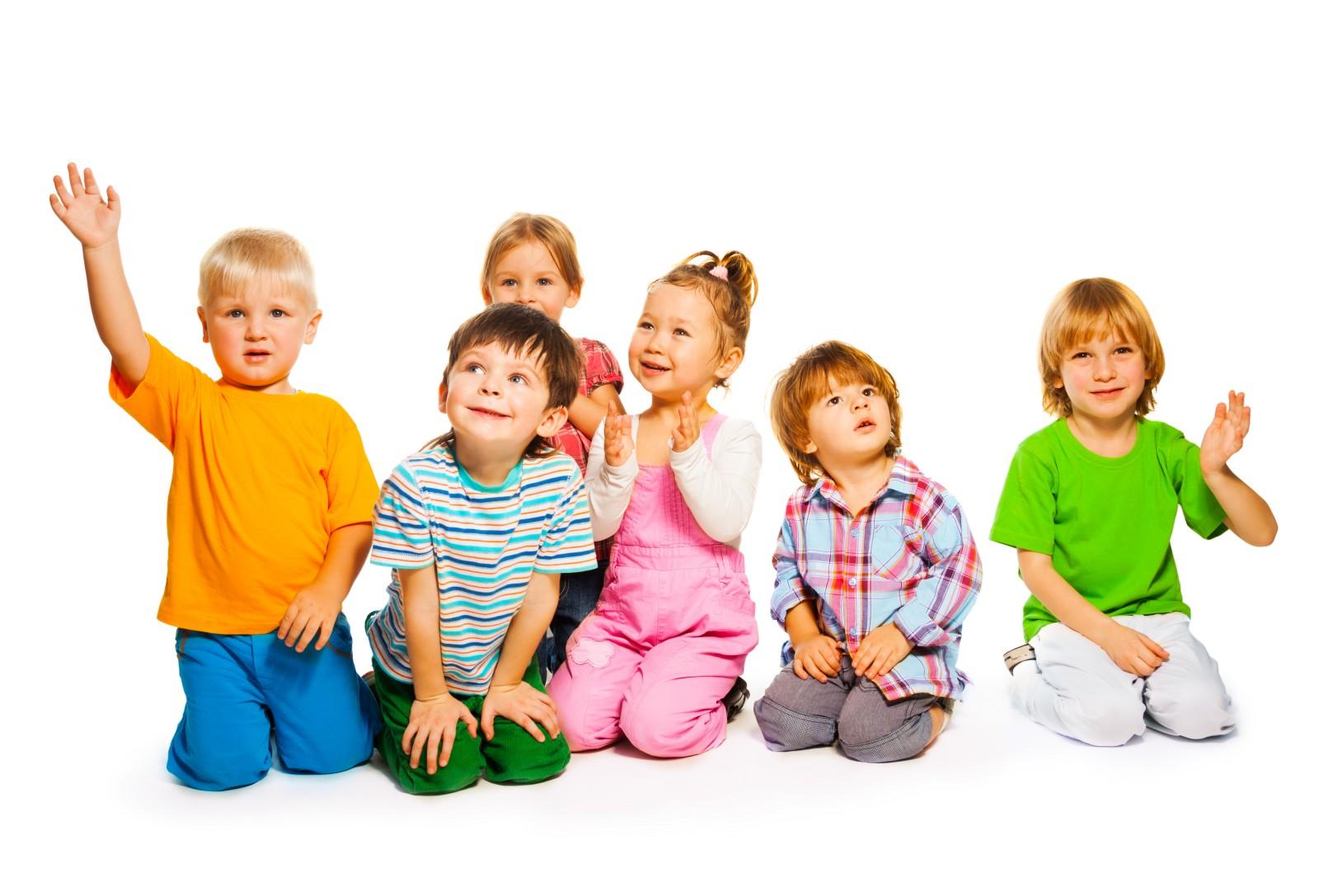 group of little kids