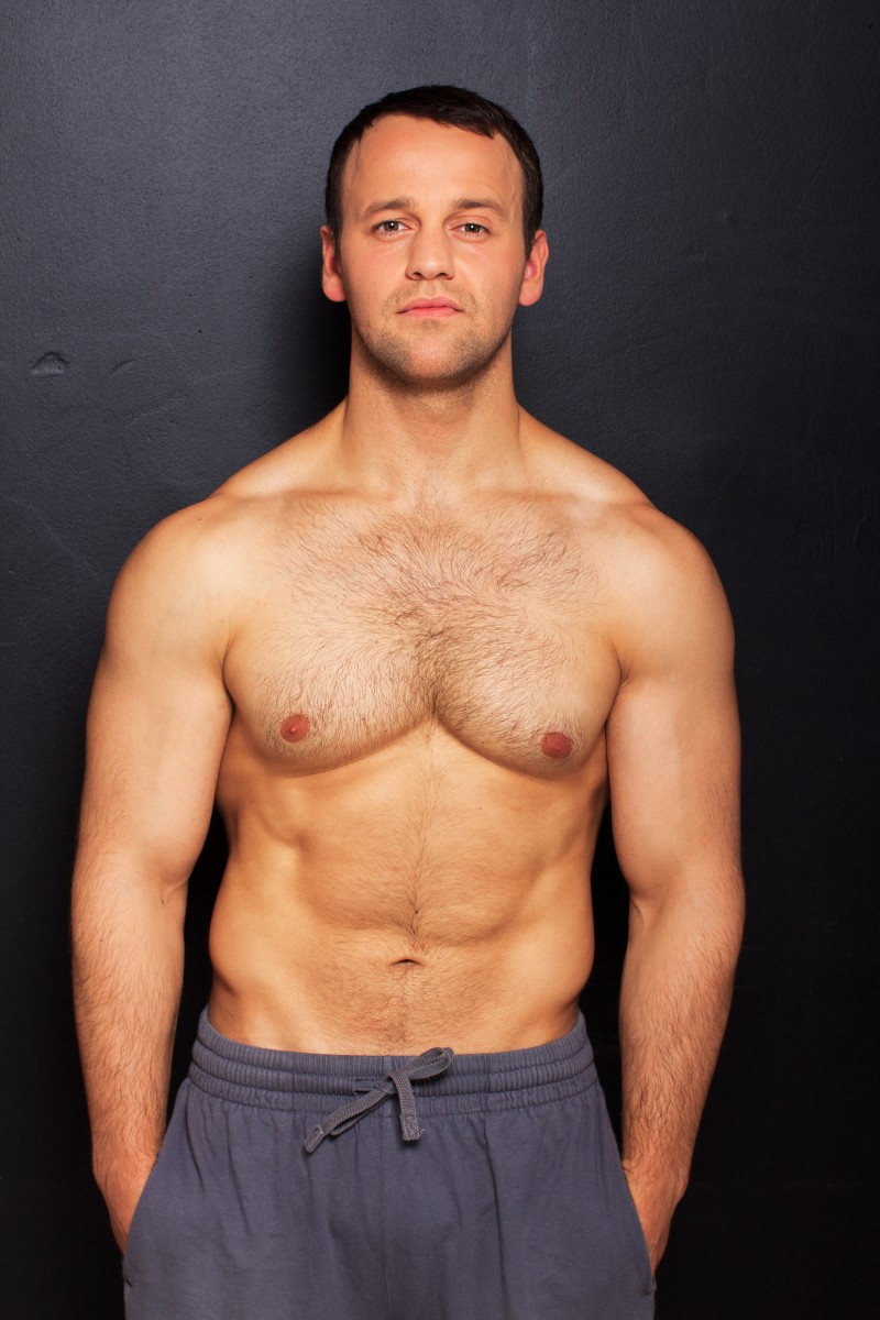 Handsome Sports Guys Muscles High Fitness S