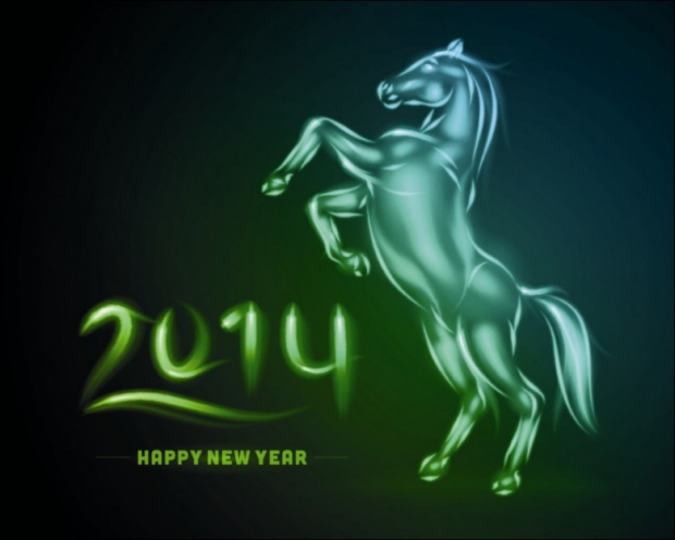 Happy 2014+Fire Horse 4