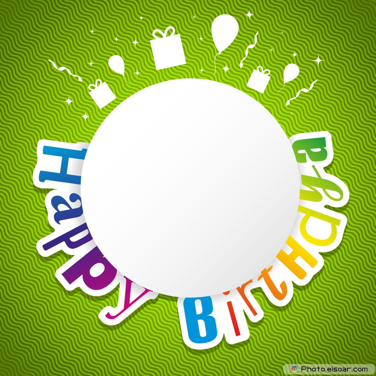 Top 10 Happy Birthday GCards Free Download Elsoar – Green Birthday Card