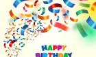 Happy Birthday Colorful Design Image