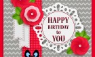 Happy Birthday To You Craft Greeting Card