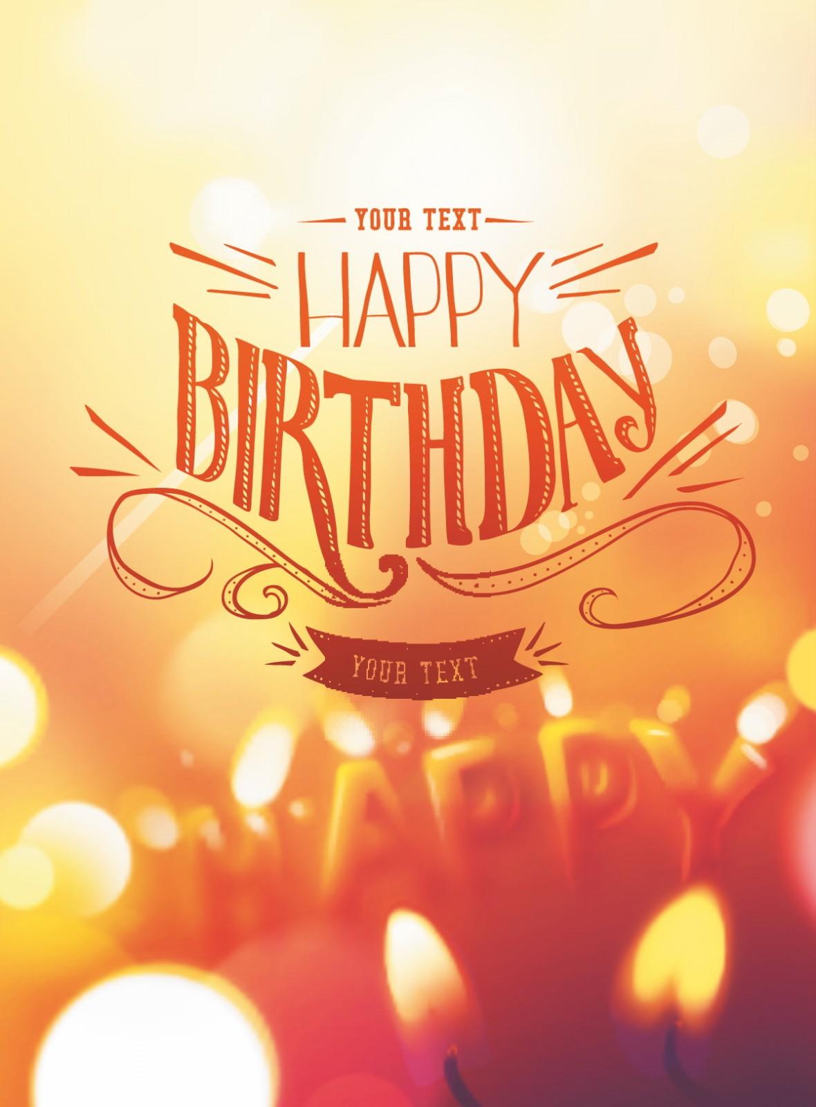 Happy Birthday card de...