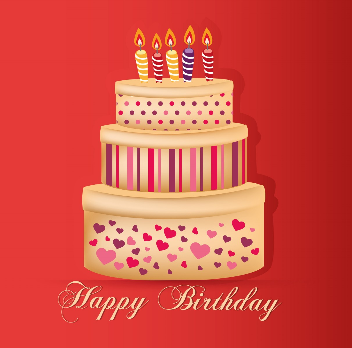 Big Cake Images For Birthday : Happy Birthday Wishes, Cards Images to Kids - ELSOAR