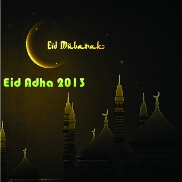 Happy Eid Adha Cards , Pictures 2013 1