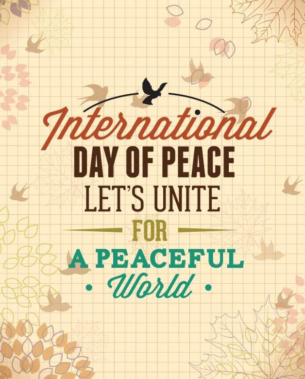 Happy International Day of Peace Greetings, Images 14