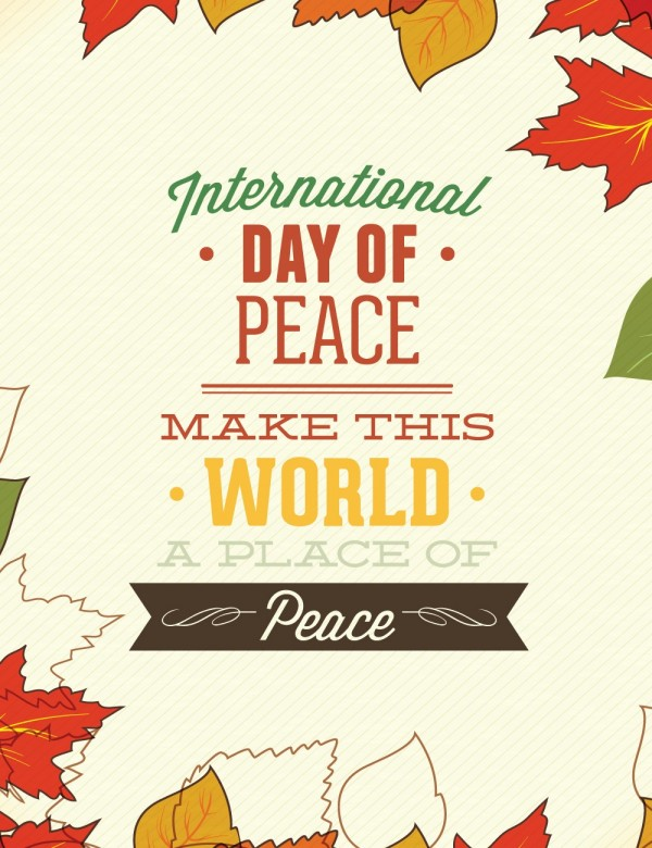 Happy International Day of Peace Greetings, Images 15