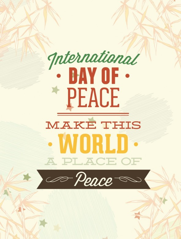 Happy International Day of Peace Greetings, Images 2