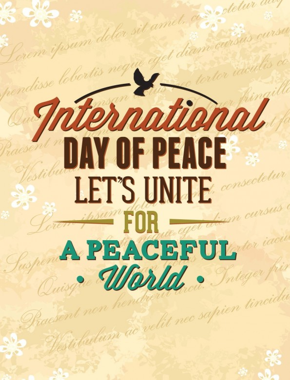 Happy International Day of Peace Greetings, Images 21