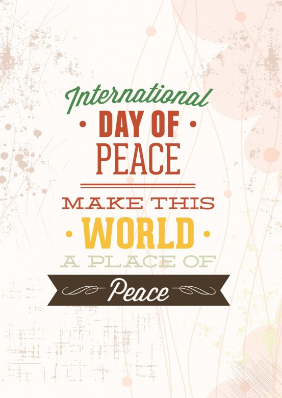 Happy International Day of Peace Greetings, Images 23