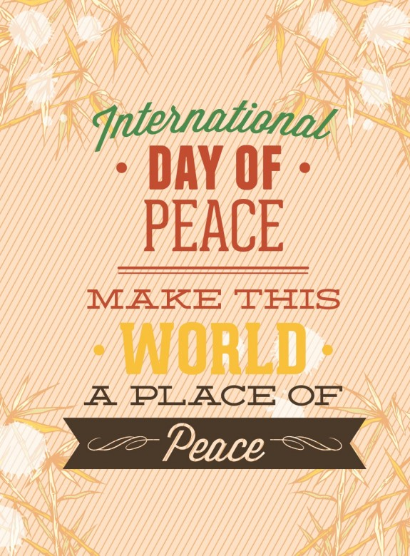 Happy International Day of Peace Greetings, Images 6