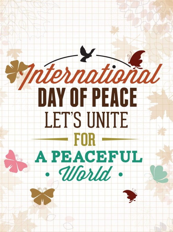 Happy International Day of Peace Greetings, Images 8