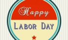 Happy Labor Day Vintage Wishes Card