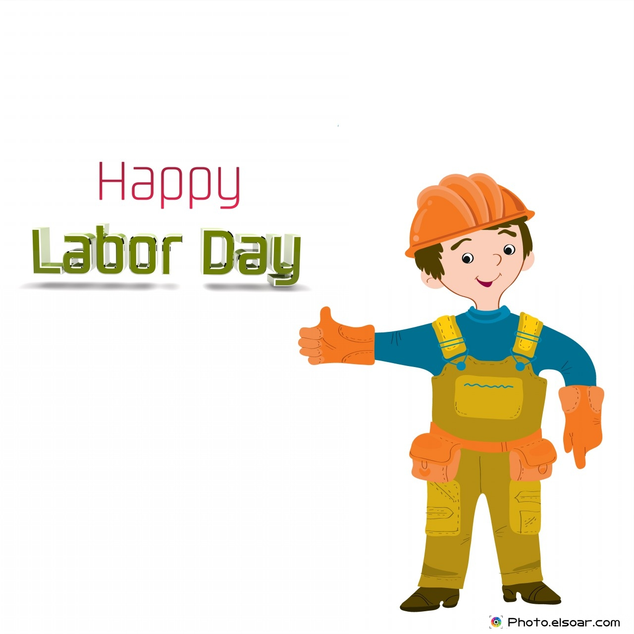 Happy Labor Day With The Worker