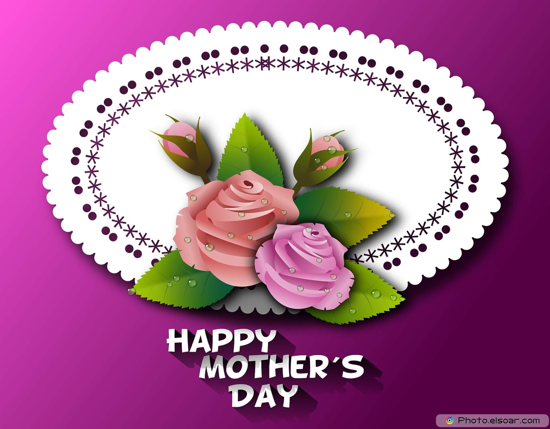 Happy Mother's Day , beautiful flowers