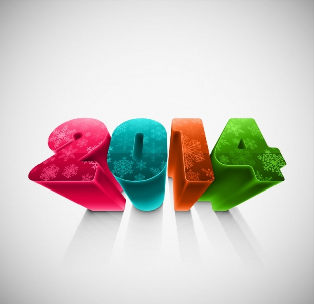 Happy New Year 2014 Wishes Wallpaper 3