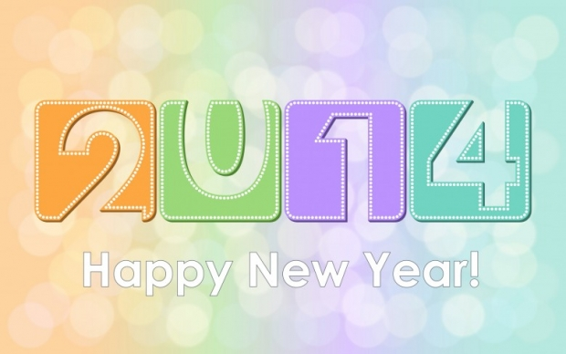 Happy New Year 2014 Wishes Wallpaper 4