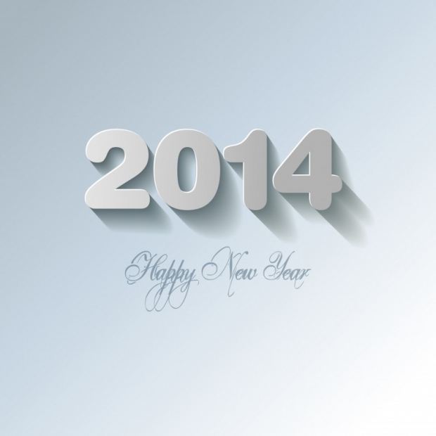Happy New Year 2014 Wishes Wallpaper 5