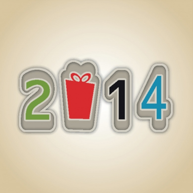 Happy New Year 2014 Wishes Wallpaper 9