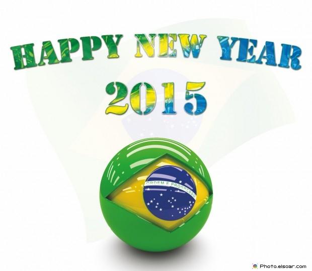 Happy New Year 2015 Brazil - Feliz Ano Novo!